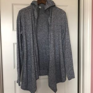 Old navy active cardigan with hood